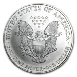 1997 American Silver Eagle 1oz coin back