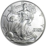 1998 American Silver Eagle 1oz coin front