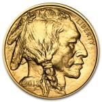 2012 Gold Buffalo 1 oz coin front
