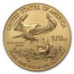 2012 half ounce American Gold Eagle Coin back