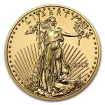 2012 1/2 oz American Gold Eagle Coin front