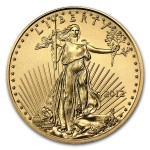 2012 One Tenth Ounce American Gold Eagle Coin front